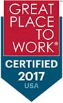 2017 great places to work award