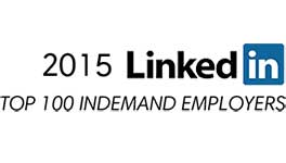 linkedin 2015 in demand award